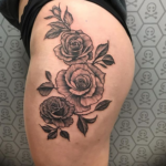 Blackwork Tattoo by Trust Mannheim Pralhad