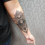 Blackwork Tattoo by Trust Mannheim Sabita