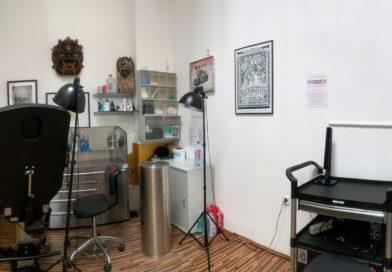 Studio und Ladengeschäft