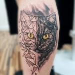 Realistic Geometric Tattoo by Trust Mannheim Pralhad