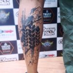 Blackwork Tattoo by Trust Mannheim Sabita