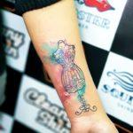 Watercolor Tattoo by Trust Mannheim Sabita